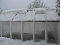 Kasvuhoone talvel