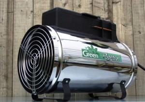 kasvuhoone kütmine
